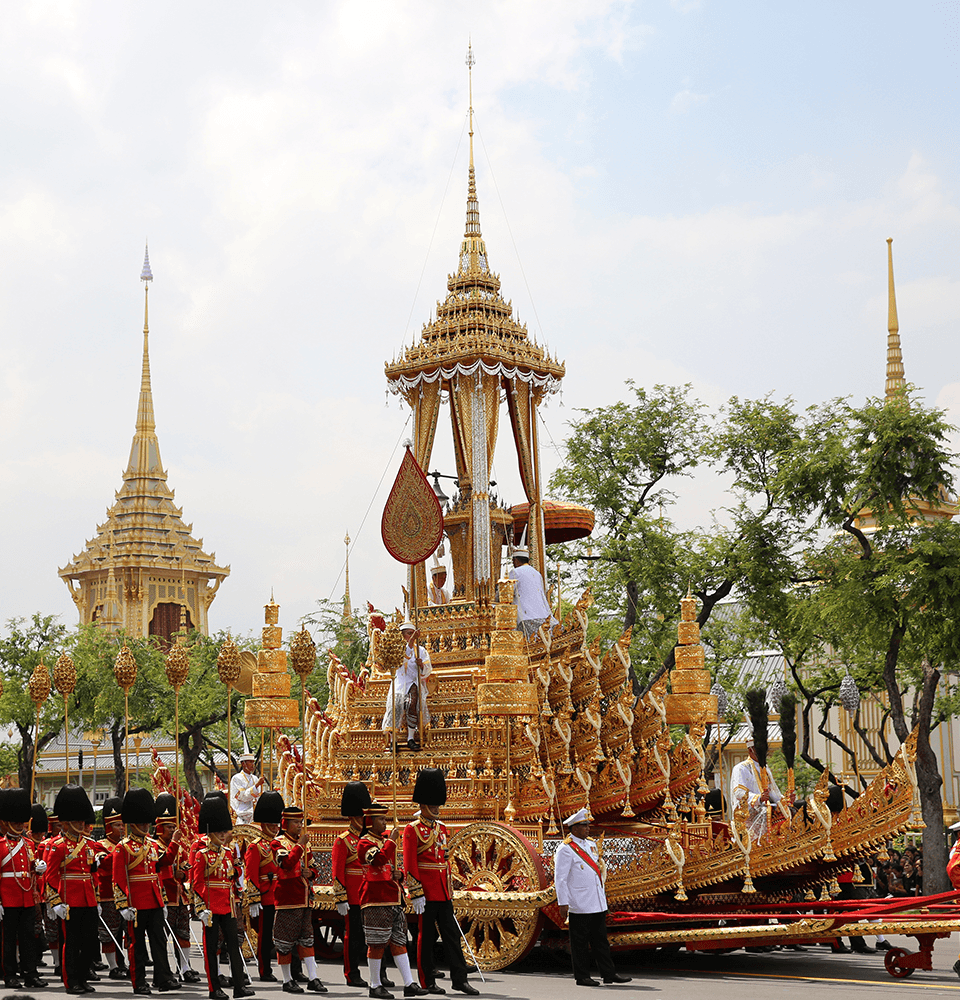 The second procession: Phra Maha Phichai Ratcharot